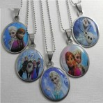 Childs Frozen Pendant Necklace