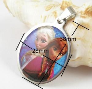 Frozen Necklace size