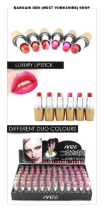LIPSTICKS DUO COLOURS FULL SIZE