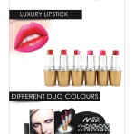 LUXURY LIPSTICKS DUO COLOURS