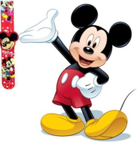 Micky mouse watch 1