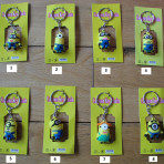 Despicable Me Minion Action Figure Keyrings
